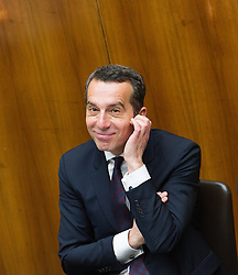 19.05.2016, Parlament, Wien, AUT, Parlament, Nationalratssitzung, Sitzung des Nationalrates mit erster Rede des neuen Bundeskanzlers, im Bild // Federal Chancellor of Austria Christian Kern during meeting of the National Council of austria with a speech of the new chancellor at austrian parliament in Vienna, Austria on 2016/05/19, EXPA Pictures © 2016, PhotoCredit: EXPA/ Michael Gruber