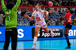 08-12-2019 JAP: Angola - France, Kumamoto<br /> First round President's Cup match Angola - France (17-28) at 24th IHF Women's Handball World Championship. /