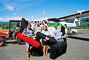 Kayakers in Samoa