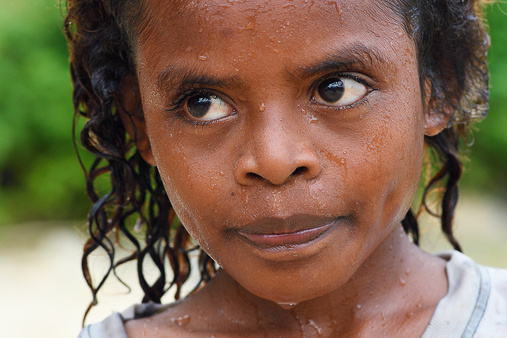 Chandy, from the village Uristinom, Aiduma Island, Triton Bay, near mainland New Guinea, Western Papua, from the book PAPUA - AMONG BIRDS OF PARADISE AND MANTA RAYS