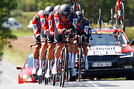 Team BMC during the Tour de France 2018, Stage 3, Team Time Trial, Cholet-Cholet (35 km) on July 9th, 2018 - Photo Luca Bettini/ BettiniPhoto / ProSportsImages / DPPI