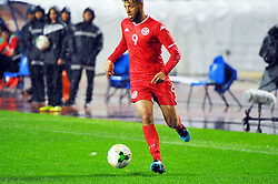 March 22, 2019 - Rades, Tunisia - Anice Badri(9) of Tunisia during the Match Tunisia vs Eswatini at the Rades Olympic stadium in the last qualifying round of the 2019 African Nations Cup finals vs. Tun vs Eswatini 4/0. (Credit Image: © Chokri Mahjoub/ZUMA Wire)