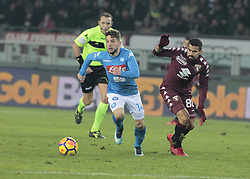 December 16, 2017 - Turin, Italy - Dries Meertens during Serie A match between Torino v Napoli, in Turin, on December 16, 2017  (Credit Image: © Loris Roselli/NurPhoto via ZUMA Press)