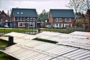 Nederland, Hengelo, 18-1-2018Beeld uit de gemeente Bronckhorst. Nieuwbouw in het dorp en het SolarPark De Kwekerij.Foto: Flip Franssen