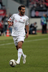 20.02.2010, EasyCredit Stadion, Nürnberg, GER, 1. FBL, 1. FC Nuernberg vs FC Bayern Muenchen, Saison 09 10, im Bild Hamit Altintop (Bayern #8). EXPA Pictures © 2010 for Austria, Italy and GBR only, Photographer EXPA / NPH / Becher / for Slovenia SPORTIDA PHOTO AGENCY.