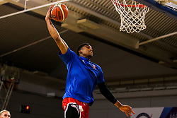 Justin Gray of Bristol Flyers warms up - Photo mandatory by-line: Robbie Stephenson/JMP - 29/03/2019 - BASKETBALL - English Institute of Sport - Sheffield, England - Sheffield Sharks v Bristol Flyers - British Basketball League Championship