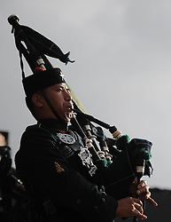 Pipes and Drums - Photo mandatory by-line: Joe Meredith/JMP - Mobile: 07966 386802 - 14/09/14 - The Invictus Games - Day 4 - Closing Ceremony - London - Queen Elizabeth Olympic Park