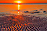 Sunrise on Lake Winnipeg<br />