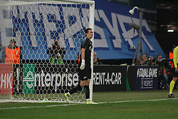 September 28, 2017 - Saint-Petersburg - Of The Russian Federation. Saint-Petersburg. Zenit-arena. Arena Saint-Petersburg. Match Of The UEFA Europa League. Zenit beat real Sociedad with the score 3:1 in the match of UEFA Europa League. Player..Andrey Lunev; Andrey Lunev; (Credit Image: © Russian Look via ZUMA Wire)