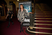 TAMARA ECCLESTONE;, Cirque de Soleil London premiere of Quidam. Royal albert Hall. 6 January 2009