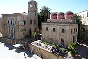 Staatsbezoek van Koning en Koningin aan de Republiek Italie - dag 2 - Palermo /// State visit of King and Queen to the Republic of Italy - Day 2 - Palermo<br /> <br /> Op de foto / On the photo: