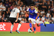 Ipswich Town midfielder Grant Ward (18) during the EFL Sky Bet Championship match between Derby County and Ipswich Town at the Pride Park, Derby, England on 21 August 2018.