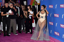 Nicki Minaj attends the 2018 MTV Video Music Awards at Radio City Music Hall on August 20, 2018 in New York City, NY, USA. Photo by Lionel Hahn/ABACAPRESS.COM
