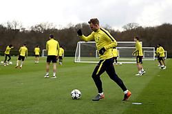 Tottenham Hotspur's Christian Eriksen during the training session at Tottenham Hotspur Football Club Training Ground, London.