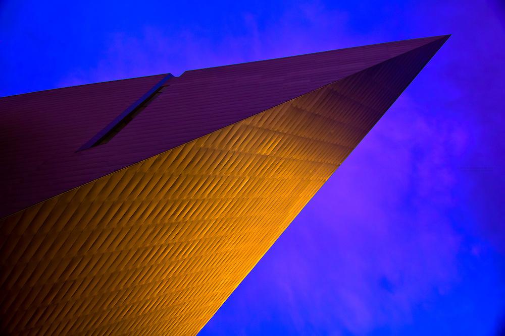Frederic C. Hamilton Building, Denver Art Museum, City Center Art Complex, Denver, Colorado USA