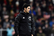 Arsenal manager Mikel Arteta during the The FA Cup match between Bournemouth and Arsenal at the Vitality Stadium, Bournemouth, England on 27 January 2020.