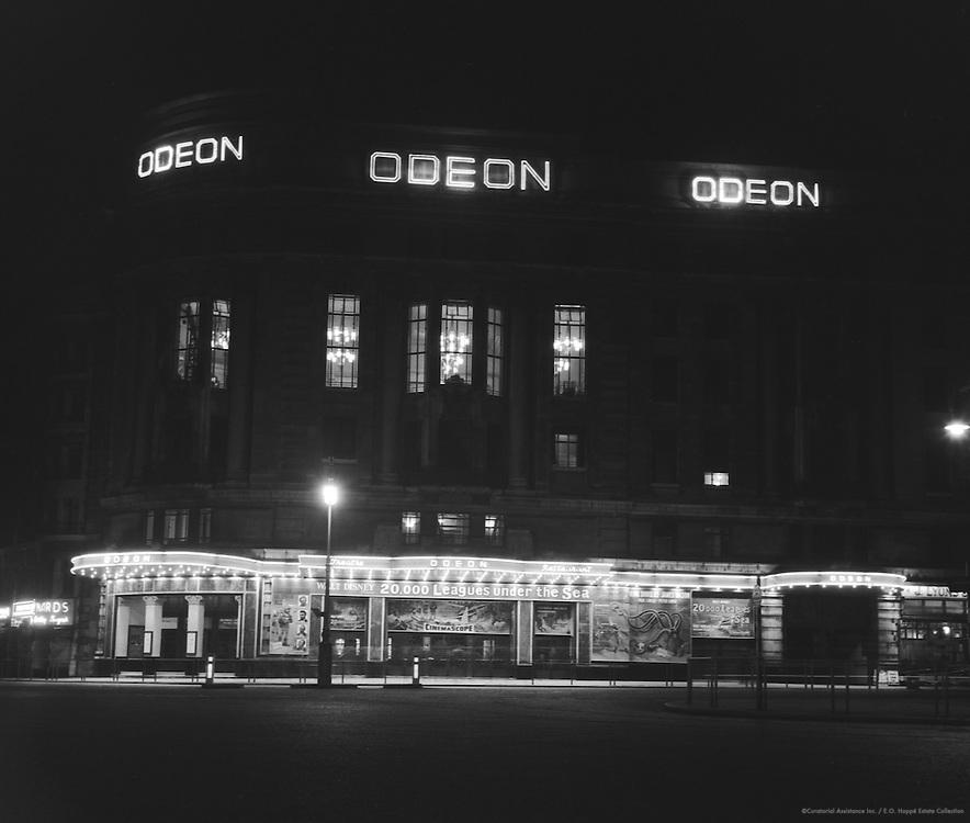Night Scene, Regent Street, London, 1954