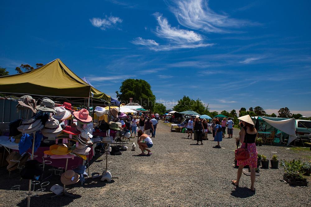 Daylesford Sunday Market, Daylesford Spa Country Railway, Daylesford, Victoria, Australia