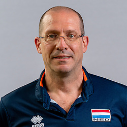 Coach Roberto Piazza of Netherlands, Photoshoot selection of Orange men's volleybal team season 2021on may 11, 2021 in Arnhem, Netherlands (Photo by RHF Agency/Ronald Hoogendoorn)