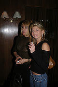 Adriana Tripa and Nadine Furstenberg, W'Sens-restaurant launch party. 12 Waterloo Place. 10 December 2004. ONE TIME USE ONLY - DO NOT ARCHIVE  © Copyright Photograph by Dafydd Jones 66 Stockwell Park Rd. London SW9 0DA Tel 020 7733 0108 www.dafjones.com