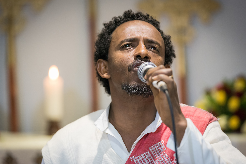 23 October 2019, Addis Ababa, Ethiopia: Performance by the Yetsedik Tsehay choir of the Ethiopian Evangelical Church Mekane Yesus. Gathered in Addis Ababa from 23-27 October 2019, Lutherans from across the globe join in consultation under the theme of 'We believe in the Holy Spirit: Global Perspectives on Lutheran Identities'. Hosted by the Ethiopian Evangelical Church Mekane Yesus, the consultation is the first phase of a study process on Lutheran identities.