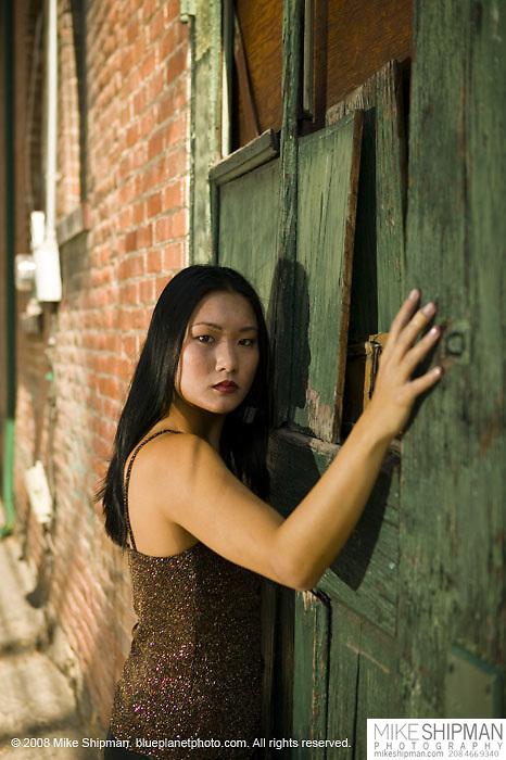 Lisa Duong model portfolio shoot