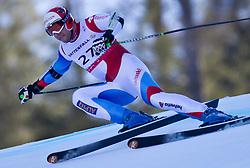 09.02.2011, Kandahar, Garmisch Partenkirchen, GER, FIS Alpin Ski WM 2011, GAP, Herren Super G, im Bild Silvan Zurbriggen (SUI) // Silvan Zurbriggen (SUI) during Men Super G, Fis Alpine Ski World Championships in Garmisch Partenkirchen, Germany on 9/2/2011. EXPA Pictures © 2011, PhotoCredit: EXPA/ J. Groder