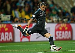 27-06-2010 VOETBAL: FIFA WORLDCUP 2010 ARGENTINIE - MEXICO: JOHANNESBURG <br />  Goalkeeper of Argentina Sergio Romero<br /> ©2010-FRH- NPH/ MVid Ponikvar (Netherlands only)