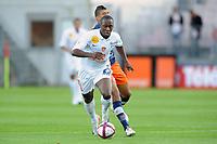 FOOTBALL - FRENCH CHAMPIONSHIP 2011/2012 - L1 - STADE BRESTOIS v MONTPELLIER HSC - 17/09/2011 - PHOTO PASCAL ALLEE / DPPI - RICHARD SOUMAH (BREST)