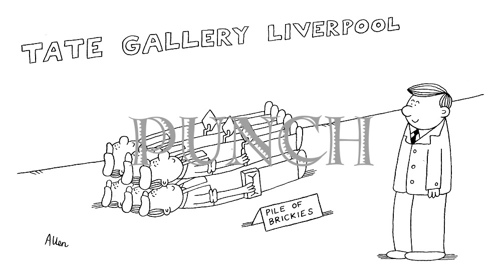 (Tate Gallery Liverpool: Pile of Brickies)
