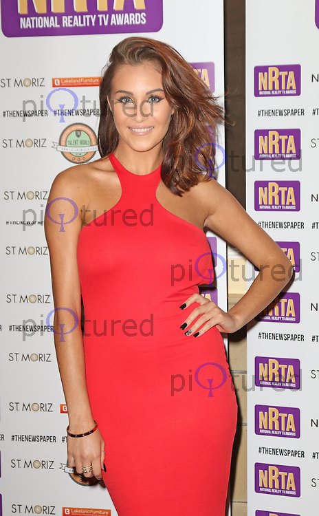 Chloe Goodman, National Reality TV Awards, Porchester Hall, London UK, 22 September 2014, Photo by Richard Goldschmidt