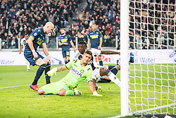 March 8, 2019 - Turin, Piedmont/Turin, Italy - Moise Kean of Juventus celebrates  during the Seria A Football Match: Juventus vs Udinese. Juventus won 4-1 at Allianz Stadium in Turin 8th march 2019 (Credit Image: © Alberto Gandolfo/Pacific Press via ZUMA Wire)