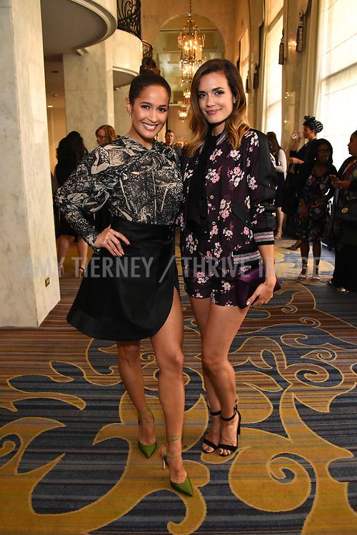 Jane Lee Ortiz and Torrey DeVitto