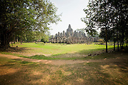 19 MARCH 2006 - SIEM REAP, SIEM REAP, CAMBODIA: The Bayon temple in the Angkor Wat complex. The Bayon is a part of the Angkor Thom complex within Angkor Wat and was built in the 12 century by Buddhists.  Photo by Jack Kurtz / ZUMA Press