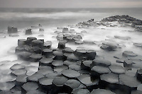 Giant's Causeway basalt landscape Northern Ireland