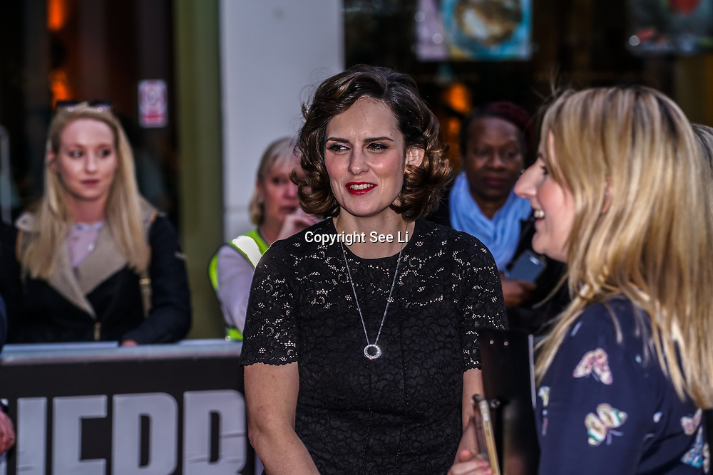 London,England,UK. 6th April, 2017. Anna Ceesay attends the UK premiere of Sky Original Production Guerrilla at The Curzon,Bloomsbury,London,UK. by See Li