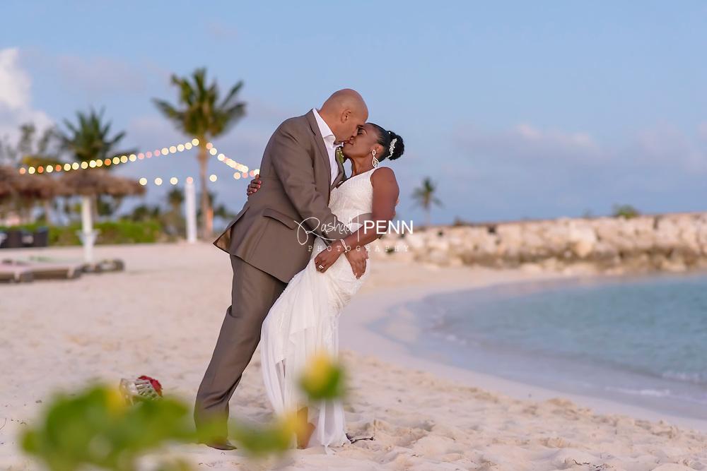 Bahamas local weddings and destination weddings. Bahamas portrait photography by Rashad Penn photography. The Bahamas photographer.