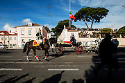 January 6, 2017. Lisbon - Portugal.<br /> One of the stops of coffin was in front Belem Palace, the official residence of Portugueses President.<br /> Funeral ceremony of Mario Soares. Ex-president of the republic of Portugal.