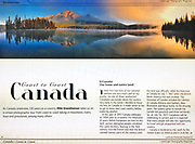 PRODUCT: Magazine<br /> TITLE: 'Coast to Coast Canada' Article<br /> CLIENT: Landscape Photography Magazine