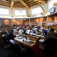 012613      Brian Leddy <br /> The Navajo Nation Council Winter Session gets underway Monday.