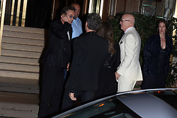 guests including Gwyneth Paltrow, Robert Downey Jr., David Arquette and Diane Keaton arriving at Jennifer Anistons 50th Birthday party in Los Angeles, CA. 09 Feb 2019 Pictured: Robert Downey Jr. Photo credit: Rachpoot/MEGA TheMegaAgency.com +1 888 505 6342