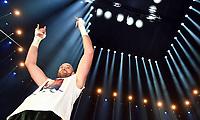Boksing<br /> Tyskland<br /> 29.11.2015<br /> Foto: Witters/Digitalsport<br /> NORWAY ONLY<br /> <br /> Sieger Tyson Fury<br /> Boxen, Schwergewichts-WM, Wladimir Klitschko (Ukraine) - Tyson Fury (England)