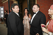 LUCIAM GRAINGE, KATRINA SEDLEY AND JONATHAN SHALIT, The Biba Ball in aid of CLIC Sargent. Victoria & Albert Museum, London. 11 May 2006.ONE TIME USE ONLY - DO NOT ARCHIVE  © Copyright Photograph by Dafydd Jones 66 Stockwell Park Rd. London SW9 0DA Tel 020 7733 0108 www.dafjones.com