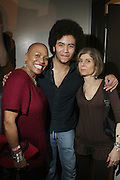 l to r: Jill Newman, Gabriel Durand and Jill Newman at The ROOTS Present the Jam Produced by Jill Newman Productions on March 19, 2009 held at Highline Ballroom in New York City.