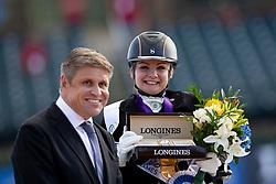 Tange Kaastrup Stinna, DEN, Horsebo Smarties<br /> World Equestrian Games - Tryon 2018<br /> © Hippo Foto - Sharon Vandeput<br /> 18/09/2018