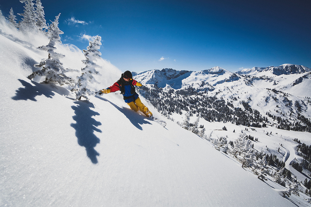 Maxwell Morrill finds grace in the Wasatch Mountains.