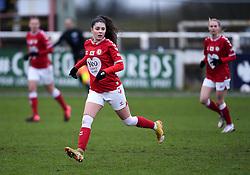 Carla Humphrey of Bristol City - Mandatory by-line: Ryan Hiscott/JMP - 14/02/2021 - FOOTBALL - Twerton Park - Bath, England - Bristol City Women v Chelsea Women - FA Womens Super League 1