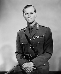 The Duke of Edinburgh in his uniform as a Field Marshall in the British Army, one of his recent promotions.