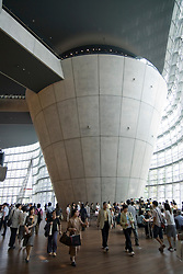Modern architecture at Tokyo National Art Center in Roppongi in central Tokyo