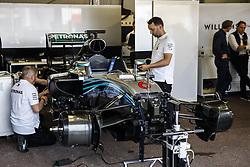 May 23, 2018 - Montecarlo, Monaco - Mercedes F1 W07 Hybrid of 2016 Nico Rosberg world champion during the Monaco Formula One Grand Prix  at Monaco on 23th of May, 2018 in Montecarlo, Monaco. (Credit Image: © Xavier Bonilla/NurPhoto via ZUMA Press)